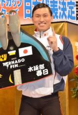 2年連続でフィンスイミングW杯に出場するオードリー春日俊彰 (C)ORICON NewS inc.