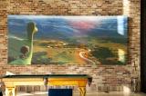 社内にはビリヤード台も。後ろには『アーロと少年』の絵が飾られている=ピクサー・アニメーション・スタジオ