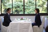 上野・精養軒でお見合いする卓三と千佳(C)テレビ東京
