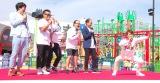 ヤキソバンのCMを再現=『グッジョバ!! オープン記念 初乗車ツアー』プレスお披露目イベント(C)ORICON NewS inc.