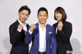 フジテレビ リオ五輪中継オリンピアンキャスターに決まった(左から)高橋大輔、野村忠宏、小谷実可子