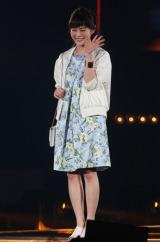 『東京ガールズコレクション 2016 SPRING/SUMMER』に登場した高畑充希/撮影:片山よしお (C)oricon ME inc.