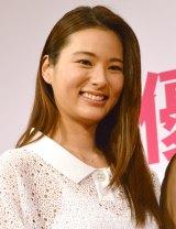 女優宣言をした2013年ミスユニバースの松尾幸実 (C)ORICON NewS inc.