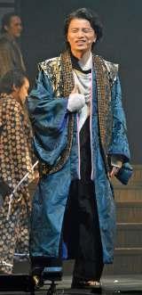音楽劇『最高はひとつじゃない 2016SAKURA』の公開舞台稽古に出席したKREVA (C)ORICON NewS inc.