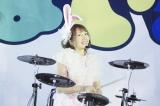 新宿でゲリラライブを行ったバンドじゃないもん!のリーダー・鈴姫みさこ