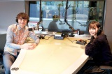J-WAVEの新番組『POP OF THE WORLD』でナビゲーターを務める(左から)ハリー杉山、乃木坂46齋藤飛鳥