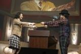 卒業証書を授与された5代目生徒会長・磯野莉音