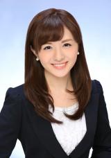 日本テレビ系朝の情報番組『Oha!4 NEWS LIVE』に出演する小菅晴香キャスター(C)日本テレビ