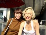 番組ナビゲーターは女優の真木よう子。ロサンゼルスで取材したスペシャル番組「マリリン・モンロー たった一人の反逆」 3月26日放送(C)NHK