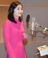 """公開レコーディングに臨む""""ベトナムの歌姫""""タム (C)ORICON NewS inc."""