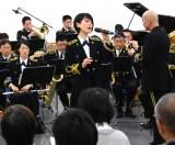 海上自衛隊東京音楽隊スペシャル・コンサートに出演した三宅由佳莉3等海曹 (C)ORICON NewS inc.