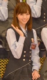 『NOGIBINGO!6』収録後囲み取材に出席した乃木坂46の西野七瀬 (C)ORICON NewS inc.