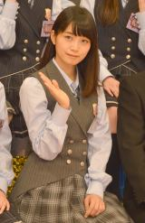 『NOGIBINGO!6』収録後囲み取材に出席した乃木坂46の深川麻衣 (C)ORICON NewS inc.