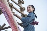 常子の幼少期を演じる内田未来(C)NHK