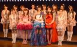 劇場デビュー10周年記念日にAKB48の2期生全員が卒業した (C)ORICON NewS inc.