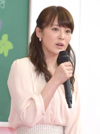 フジテレビ系ドラマ『早子先生、結婚するって本当ですか?』制作発表会見に出席した貫地谷しほり (C)ORICON NewS inc.