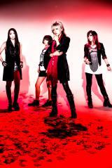 活動休止を発表したガールズバンドGANGLION(左からvivi、ebi、oni、sagara)
