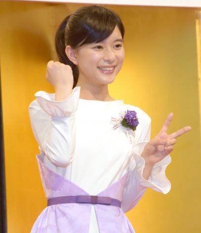 NHK連続テレビ小説『べっぴんさん』のヒロイン・すみれ役に決定した