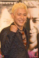 舞台『懲悪バスターズ』制作発表に出席した田村亮(ロンドンブーツ1号2号) (C)ORICON NewS inc.
