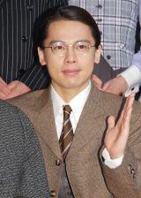 ミュージカル『グランドホテル』の取材会に出席した中川晃教 (C)ORICON NewS inc.