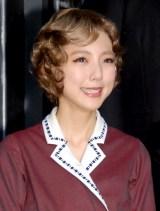 ミュージカル『グランドホテル』の取材会に出席した真野恵里菜 (C)ORICON NewS inc.
