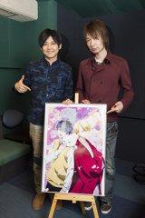 『不機嫌なモノノケ庵』に出演する(左から)梶裕貴、前野智昭