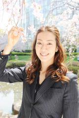 テレビ朝日系『報道ステーション』4月15日から金曜のスポーツコーナーを担当する寺川綾(C)テレビ朝日