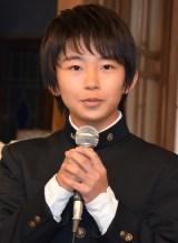 加藤清史郎=フジテレビ系日9ドラマ『OUR HOUSE』制作発表会見  (C)ORICON NewS inc.