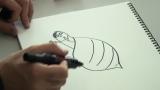 桝太一アナがデザインした『貝社員』の『カガミ貝』 (C)日本テレビ