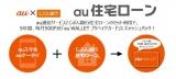 KDDIは新たな金融サービスとして「auのほけん・ローン」を開始した