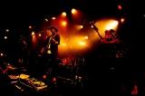 大森南朋率いるロックバンド「月に吠える。」ライブ写真