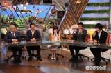 (左から)松本人志、安倍首相、指原莉乃、山里亮太、古市憲寿