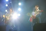 欅坂46デビューシングル「サイレントマジョリティー」発売記念全国握手会 M4「渋谷川」(左から小林由依、今泉佑唯)