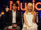 TBSほかで4月19日スタートの新音楽番組『Good Time Music』司会を務める及川光博とDream Ami (C)ORICON NewS inc.
