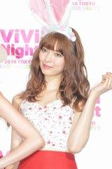 八木アリサ=『ViVi Night 2016 TOKYO 〜EASTER PARTY〜』 囲み取材(C)ORICON NewS inc.