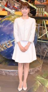 フジテレビ系バラエティー『全力!脱力タイムズ』で新キャスターを務める小澤陽子アナ (C)ORICON NewS inc.