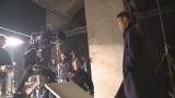 本田圭佑選手が出演する、トヨタ『HYBRID AURIS』新CM「Secret Road」篇のメイキングカット
