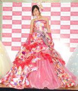 華やかなウエディングドレス姿を披露した小島瑠璃子 (C)ORICON NewS inc.