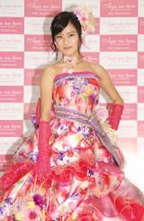 ウエディングドレスブランド『Aya na ture』のプレス発表会に出席した小島瑠璃子 (C)ORICON NewS inc.