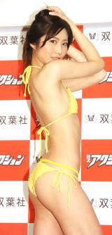 『ミスアクション2016』準グランプリの橋本祐里 (C)ORICON NewS inc.
