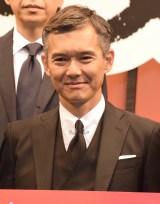 WOWOW『連続ドラマW 沈まぬ太陽』完成披露試写会に出席した渡部篤郎 (C)ORICON NewS inc.
