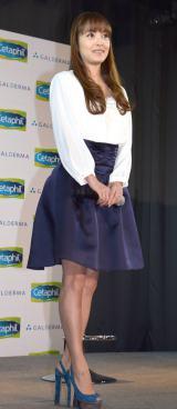 『セタフィルベビー』新CM発表会に出席した中山エミリ (C)ORICON NewS inc.