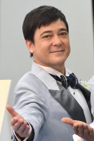 ミュージカル『Forever Plaid 2016』に出演する川平慈英 (C)ORICON NewS inc.