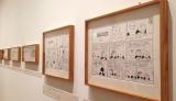 23日にオープンする『スヌーピーミュージアム』で公開されてる原画の数々(C)Peanuts (C)oricon ME inc.