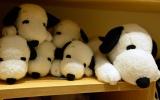 23日にオープンする『スヌーピーミュージアム』ミュージアムショップ「BROWN'S STORE」ぬいぐるみ 寝そべりスヌーピー(税別3800円)(C)Peanuts (C)oricon ME inc.