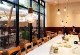 23日にオープンする『スヌーピーミュージアム』カフェ「Cafe Blanket」店内の様子(C)Peanuts (C)oricon ME inc.