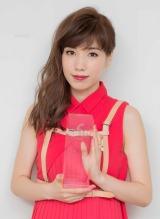 NHK総合『逃げる女』で助演女優賞を受賞した仲里依紗 (C)oricon ME inc.