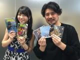 (左から)℃-ute・矢島舞美、うすた京介氏 (C)SHUEISHA Inc. All rights reserved.
