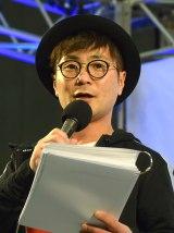 『Freshman's Fes 2016 in 東京体育館』のMCを務めたカラテカ・入江慎也 (C)ORICON NewS inc.