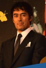 映画『海よりもまだ深く』舞台あいさつに出席した阿部寛(C)ORICON NewS inc.